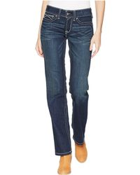 Ariat - R.e.a.l.tm Straight Icon Jeans In Ocean - Lyst