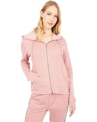 Roxy Go For It A Full Zip Hoodie - Pink