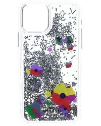 Kate Spade Collage Liquid Glitter Phone Case For Iphone 11 Pro - Multicolor
