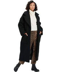 UGG Hattie Long Oversized Coat - Black