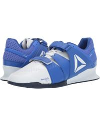 4a710d9770a797 Reebok - Legacy Lifter (white crushed Cobalt collegiate Navy) Men s Shoes -