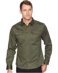 United By Blue Holt Work Shirt (dark Olive) Clothing - Green