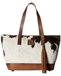 STS Ranchwear - The Classic Tote (cowhide) Tote Handbags - Lyst