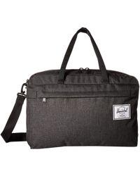 Herschel Supply Co. - Bowen (black 2) Duffel Bags - Lyst