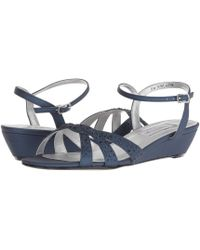 7d6f203310b Lyst - Paloma Barceló Lena Suede Wedge Sandals in Natural
