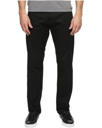 Calvin Klein - Stretch Calvary Twill Pant (black) Men's Casual Pants - Lyst