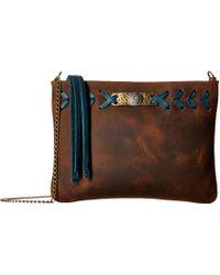 Leatherock - Cheyenne Crossbody (tobacco) Cross Body Handbags - Lyst