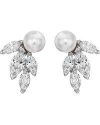 Swarovski - Louison Pearl Pierced Earrings (white) Earring - Lyst