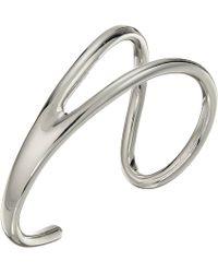 French Connection - Open Cuff Bracelet (rhodium) Bracelet - Lyst