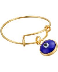 ALEX AND ANI - Evil Eye Expandable Wire Ring (sterling Silver) Ring - Lyst
