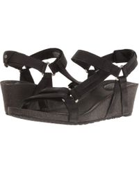 02ce0bb1bb69 Lyst - Teva Cabrillo Strap Wedge 2 in Brown