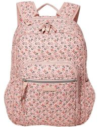 Vera Bradley Iconic Campus Backpack - Pink