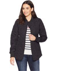 Ilse Jacobsen Padded Quilt Jacket (black) Women's Coat