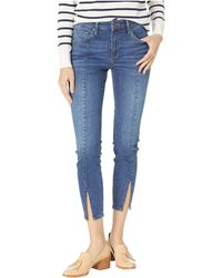 Mavi Jeans - Tess High-rise Skinny In Slit Shaded (slit Shaded) Women's Jeans - Lyst