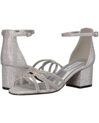 b6cdc7bc0598 Touch Ups - Zoey (champagne) Women s Bridal Shoes - Lyst