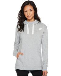 Nike - Sportswear Gym Classic Pullover Hoodie - Lyst