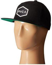 RVCA Commonwealth Snapback - Black