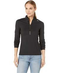 Reebok - Running 1/4 Zip (black) Women's Workout - Lyst