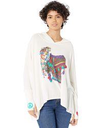 Lauren Moshi Wilma Peace Love Camel - Multicolor