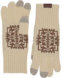 Pendleton Knit Gloves - Black