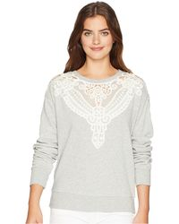 PAIGE - Eilise Sweater (heather Grey) Women's Sweater - Lyst