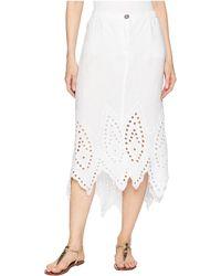 XCVI - Daru Skirt (white) Women's Skirt - Lyst