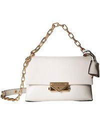 a387c4d834abc9 MICHAEL Michael Kors - Xs Chain Crossbody (brown/acorn) Handbags - Lyst