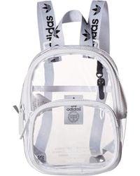 huge discount 4c55f 28db3 adidas Originals - Originals Clear Mini Backpack (black) Backpack Bags -  Lyst