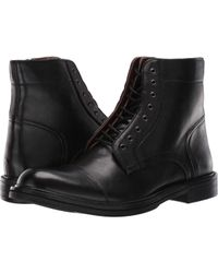 Steve Madden - Catapult (black) Men's Lace-up Boots - Lyst