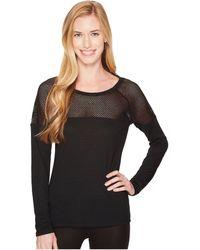 Lorna Jane - Valley Long Sleeve Top (black) Women's Clothing - Lyst