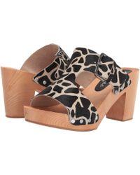 d4c937a50c7 Matisse - Cherri Wooden Heeled Sandal (giraffe) Women s Shoes - Lyst