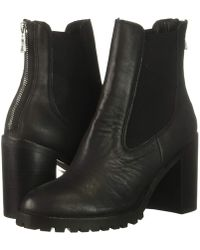 Chinese Laundry - Jersey (charcoal Split Suede) Women's Zip Boots - Lyst