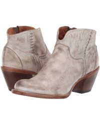 Lucchese - Ericka (chocolate) Cowboy Boots - Lyst