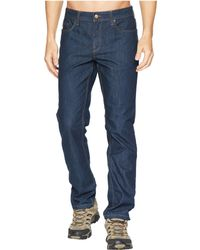 Toad&Co - Wingman Denim (dark Denim) Men's Jeans - Lyst