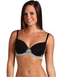 aefd25dcad303 Lyst - Wacoal Embrace Lace Contour Bra 853191 (black) Women s Bra in ...