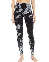 Hard Tail High Rise Ankle Leggings In Cotton Spandex - Black