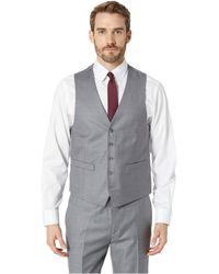 Kenneth Cole Reaction - Techni-cole Stretch Suit Separate Vest (grey/black Check) Men's Vest - Lyst