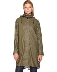 Ilse Jacobsen Lightweight True Rain Loose Fitting Trench Coat - Green