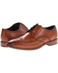 Florsheim Castellano Wingtip Oxford Lace Up Wing Tip Shoes - Brown