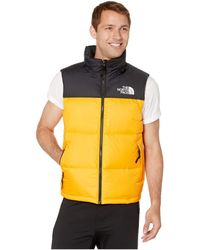 The North Face Nuptse 1996 Padded Vest - Yellow
