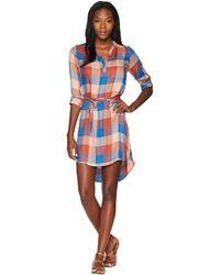 Mountain Khakis - Josie Dress (black Plaid) Women's Dress - Lyst