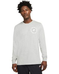 Nike - Nsw Long Sleeve Just Do It 1 Tee Clothing - Lyst