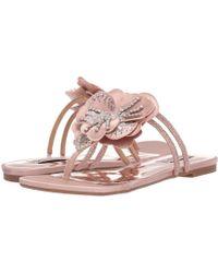 db04eeb7ba26 Badgley Mischka - Laurie (ivory Satin) Women s Sandals - Lyst