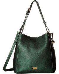 Frances Valentine Medium June Hobo (bottle Green) Hobo Handbags