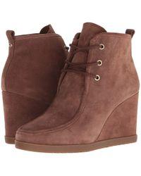 MICHAEL Michael Kors - Tamata Lace-up Bootie (dark Caramel) Women's Boots - Lyst