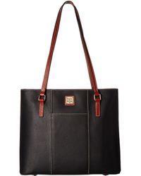 Dooney & Bourke - Lexington Shopper (black) Tote Handbags - Lyst