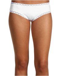 Natori Bliss Cotton Girl Briefs - White