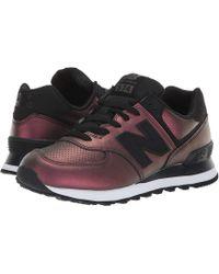 e8f4c61feff New Balance - Wl574v2 (flat White ice Blue) Women s Shoes - Lyst
