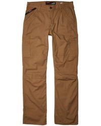 Ariat Fr M5 Slim Duralight Stretch Canvas Straight Leg Pants - Natural