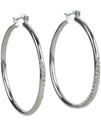 Guess - 136484-21 (crystals/silver) Earring - Lyst
